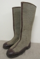 WWII Red Army Officer's Winter Felt Boots Boots BURKI. Size 11.
