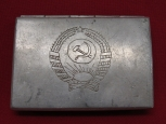 WWII Red Army ( RKKA ) Trench Art Cigarette Case.