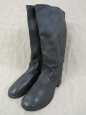 WWII Type Soviet Army Artifficial Letaher Boots Size 44.