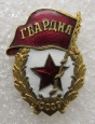 WWII Red Army Guard's Badge.