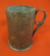 WWI Russian Imperial Army Trench Art Mug.