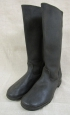 """WWII Type Artifficial Leather Boots """"Kirzachi"""". Mint."""