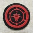 Postwar Soviet Navy VMF USSR Sleeve Patch of Navigator Staff.