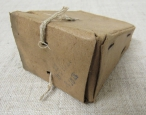 WWI Imperial Russian Army Mosin M1891 Cal.7,62 Ammo Cardboard Box. Dated 1917.