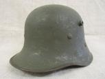 Австрия  стальной шлем М17