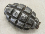 WWI French F1 Handgrenade. Fully Deco.