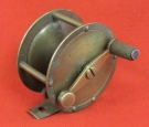 Vintage Fly Fishing Reel. Period of 1930-40. Good Working Condition.
