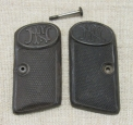 Browning M1906 6.35 Cal. Pistol Handle Plates.