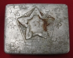 WWII Red Army ( RKKA )Self made Cigarette Case. Battlefield Relic.