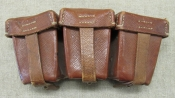 WWII German Imperial K 98 Mauser Ammo Pouch.