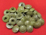 WWII Red Army ( RKKA ) Buttons. D 15 mm.