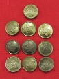 WWII Red Army ( RKKA ) Buttons. D 22 mm.