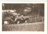 WWII Wrecked German Sd.Kfz 263 Armored Carrier Picture. 1941.
