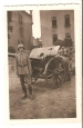 Imperial German Soldier & 10,5 cm. Field Howitzer Mod.1916 Picture.