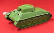 Vintage Soviet Toy Inertial Tank.