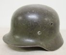 WWII German Army M40 Model Steel Helmet . Q66