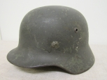 WWII German Army M35 Model Single Decal Steel Helmet .