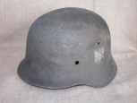 WWII German M40 Steel Helmet.