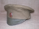 Russian Imperial Army ( RIA ) Mod.1909 Private and NCO issue Visor hat.