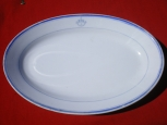 Russian RKVMF (Navy)  Porcelain Dish.