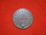 WWII German Cantene Token