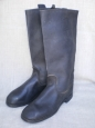 "WWII Type Soviet Army Artifficial Leather Long Boots ""KIRZACHI"". Big Size."