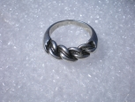 Antique Latvian NAMEIS Silver Ring.