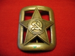 WWII Red Army (RKKA) Officer's Belt Buckle. Mod.1935.