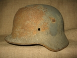 German M35 Steel Helmet.