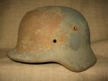 Стальной шлем  М35 камуфлированный