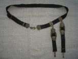 Russian WWII Navy Oficer's Belt With Hanger For Dagger