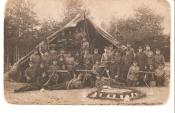Солдаты армии Эстонии в полевом лагере
