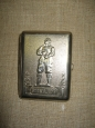 Cigarette Case With The Famous Russian Pilot Chkalov Engraved