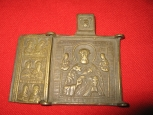 Russian Ortodox Icon-Triptych