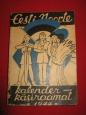 Calendar-Instruction For Estonian Youth, 1944 y.