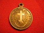 """Russian Imperial Medal """"For The Russian-Turkish War 1877-1878"""", 4 grade."""