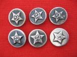 NKVD Uniform Buttons (Small Size)