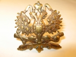 Кокарда артиллериста периода Николая II