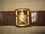 Red Army High Rank Officers M40 Leather Belt.