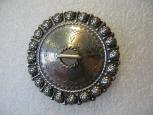 Vintage Estonian Silver Brooch