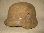 German M40 Single Steel Helmet.