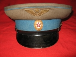 Soviet Everyday Officers Visor Hat of Air Forces (ВВС)