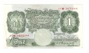 1 Pound. England.
