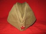 Soviet Army Side Cap, Model 35.